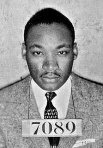 Martin Luther King, Jr. Prisoner.